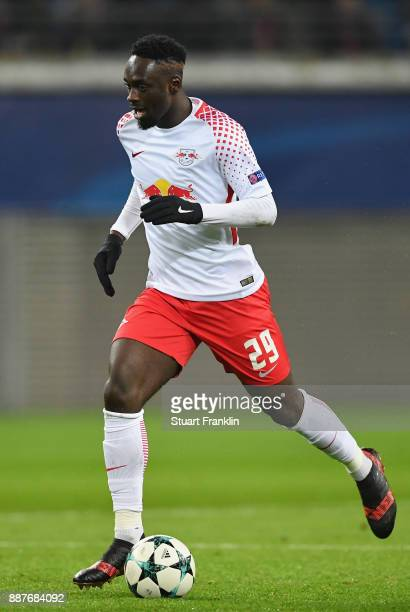 JeanKévin Augustin of Leipzig in action during the UEFA Champions League group G match between RB Leipzig and Besiktas at Red Bull Arena on December...