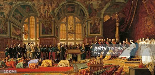 JeanLeon Gerome Napoleon III Receiving the Ambassador of Siam in Fontainebleau