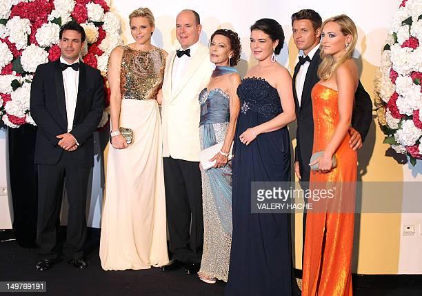 jeanLeonard TaubertNatta de Massy Princess Charlene of Monaco Prince Albert II of Monaco ElisabethAnne de Massy MelanieAntoinette de Massy Gareth...