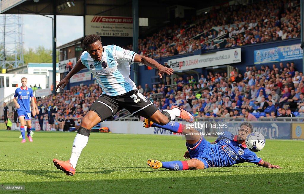 Oldham Athletic v Shrewsbury Town: Sky Bet League One : News Photo