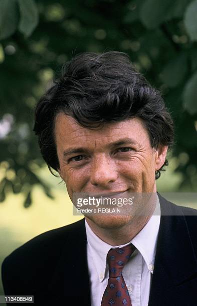 JeanLouis Borloo On May 21st 1989 In LyonFrance