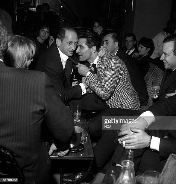 JeanLouis Jaubert and Gilbert Becaud Paris Club SaintHilaire 1963 HA11607