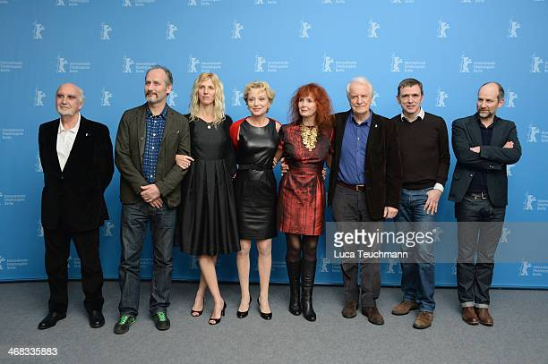 Jean-Louis Livi, Hippolyte Girardot, Sandrine Kiberlain, Caroline Sihol, Sabine Azema, Andre Dussollier, Jean-Marie Besset and Christian Hincker...