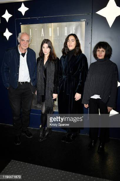 JeanLouis Martinelli Astrid BergesFrisbey Charlotte Dauphin and Anouk Grinberg attend 'L'Autre' Directed By Charlotte Dauphin Premiere at Cinema...