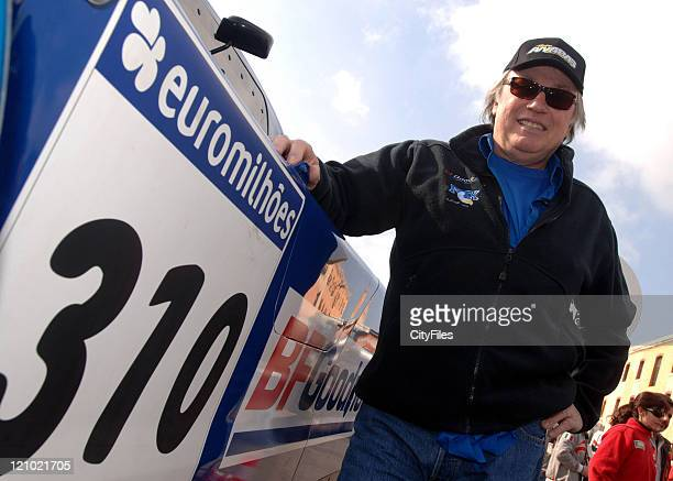 JeanLouis Schlesser of Schlesser Ford Raid during day three of administrative and technical scrutineering at the 2007 LisbonDakar Rally in the car...