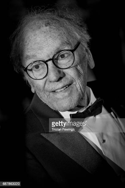 JeanLouis Trintignant attends the 'Happy End' screening during the 70th annual Cannes Film Festival at Palais des Festivals on May 22 2017 in Cannes...