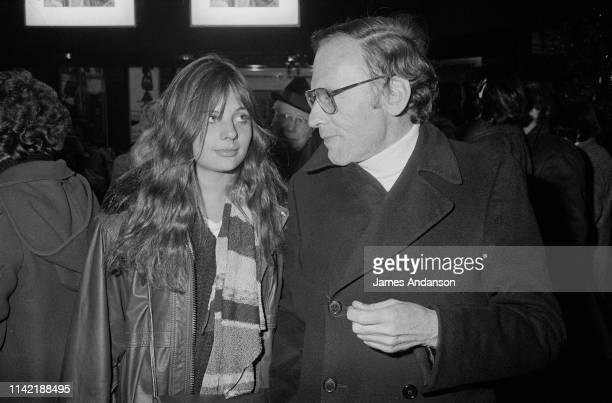 JeanLouis Trintignant et sa fille Marie Trintigant sont venus assister au spectacle de Jacques Villeret à Bobino