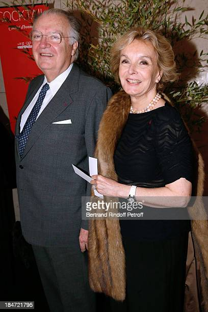 JeanLouis Vilgrain and his wife Myriam de Colombie attend AROP Gala at Opera Bastille with a representation of 'Aida' on October 15 2013 in Paris...