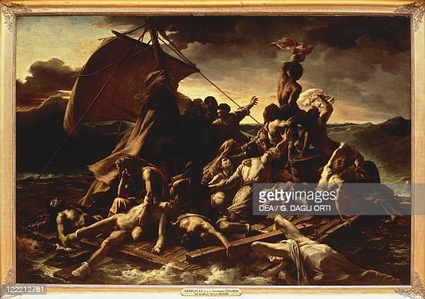 JeanLouisTheodore Gericault The Raft of the Medusa 1819
