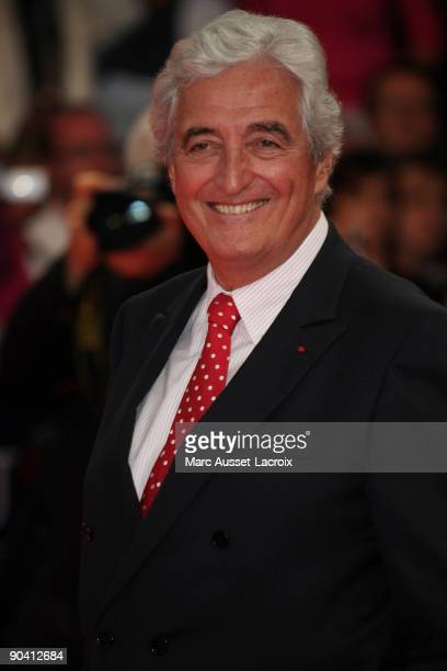 JeanLoup Dabadie arrives for the screening of the movie 'Me and Orson Welles' at the 35th American Film Festival in Deauville on September 6 2009 in...