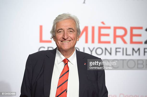 Jean-Loup Dabadie attends the opening ceremony of the 8th Film Festival Lumiere in Lyon on October 8, 2016 in Lyon, France.