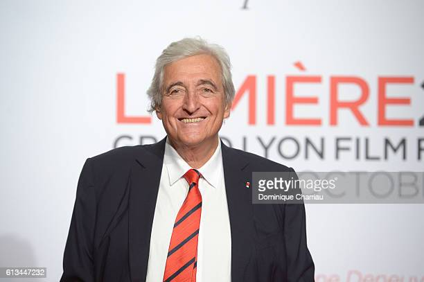 JeanLoup Dabadie attends the opening ceremony of the 8th Film Festival Lumiere on October 8 2016 in Lyon France