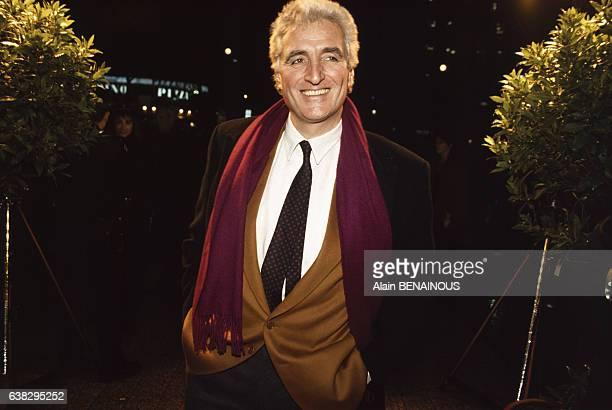 JeanLoup Dabadie lors d'une soirée le 11 janvier 1994 à Paris France