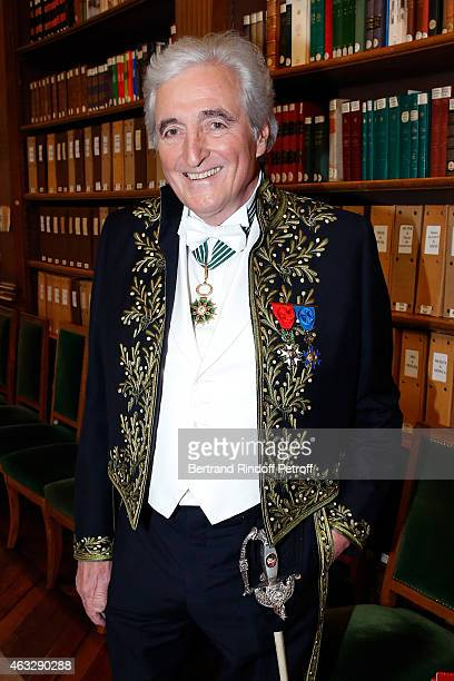 Jean-Loup Dabadie, who will make speech on Xavier, attends Xavier Darcos becomes a Member of the Academie Francaise : Official Ceremony at Academie...