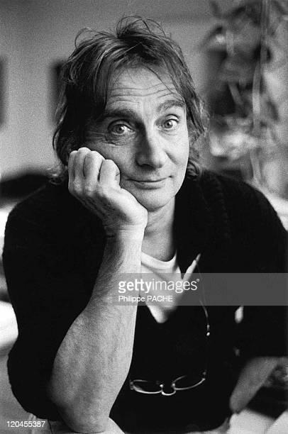 Jeanloup Sieff in Paris, France in 1990 - Jeanloup Sieff in his studio.