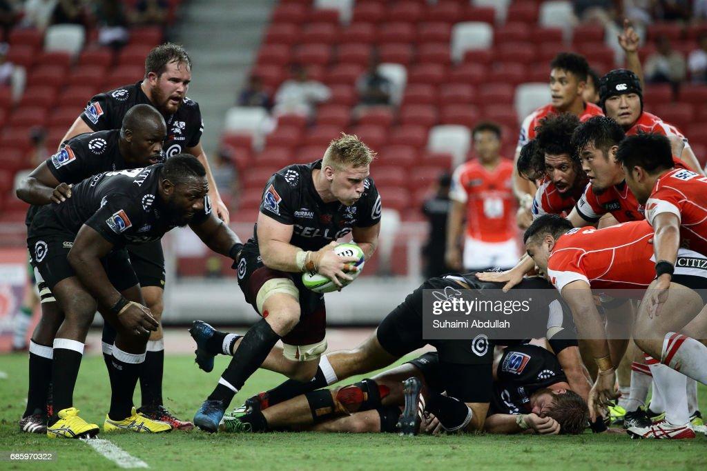 Super Rugby Rd 13 - Sunwolves v Sharks : ニュース写真
