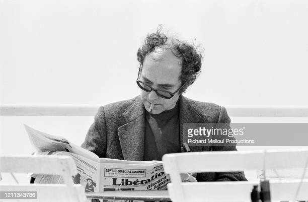 Jean-Luc Godard à Cannes pour sa première participation au festival