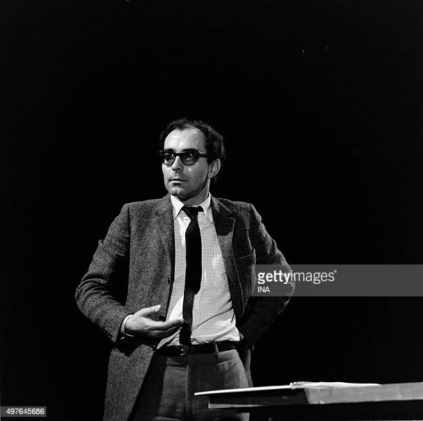 JeanLuc Godard during the shooting of the fiction cheerful knowledge