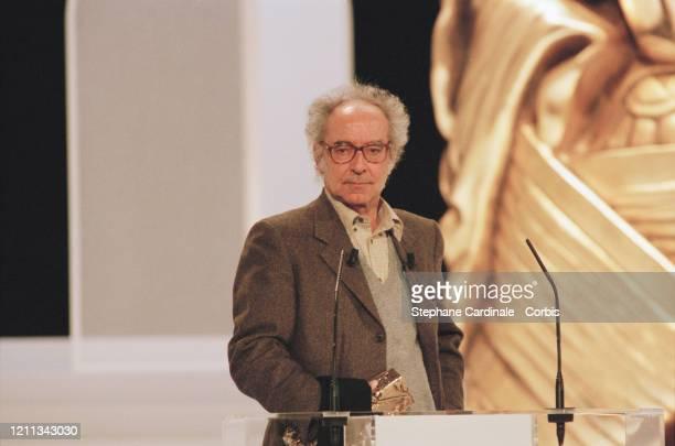Jean-Luc Godard à la 23ème Cérémonie des Césars à Paris