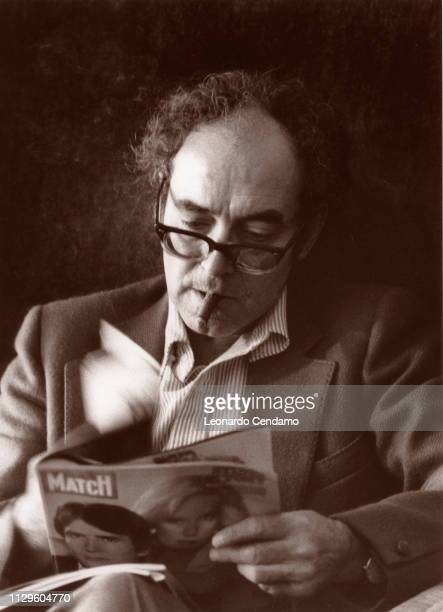 JeanLuc Godard Paris France August 1995