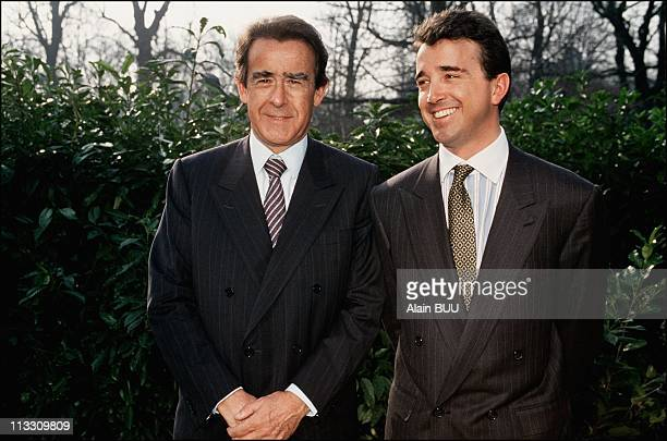 JeanLuc Lagardere Gives A Press Conference Of Hachette Group On February 02nd 1993