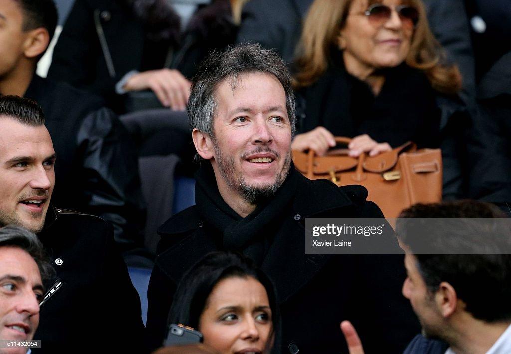 Jean-Luc Lemoine attends the French Ligue 1 between Paris Saint-Germain and Stade de Reims at Parc Des Princes on february 20, 2016 in Paris, France.