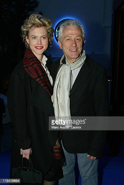 JeanLuc Moreau and Mathilde Penin during Unveiling of the New Theatre Bobino in Paris at Theatre Bobino in Paris France