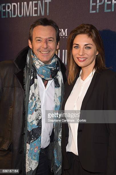 JeanLuc Reichmann and Ariane Brodier attend the Premiere of 'Eperdument' at UGCNormandie on February 29 2016 in Paris France