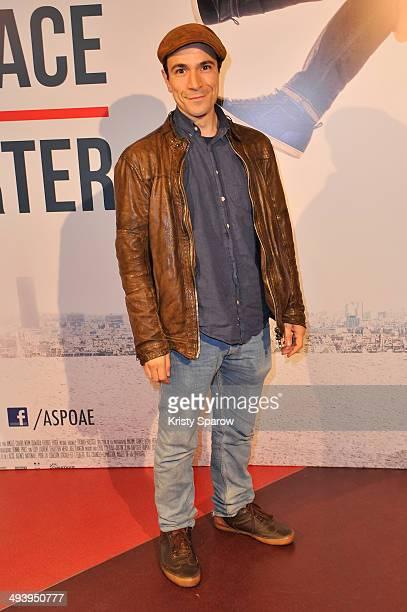 JeanMarc Barr attends the 'Amour Sur Place' Paris Premiere at Cinema Gaumont Capucine on May 26 2014 in Paris France
