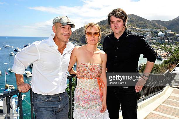 JeanMarc Barr Radha Mitchell and Orian Williams attend the 2013 Catalina Film Festival on September 21 2013 in Catalina Island California