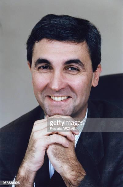 Jean-Marc Espalioux, homme d'affaires, le 24 janvier 1997 à Paris, France.