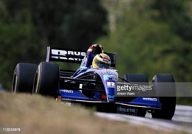 JeanMarc Gounon drives the MTV Simtek Ford Simtek S941 Ford HB 35 V8 during the Hungarian Grand Prix on 14th August 1994 at the Hungaroring Circuit...