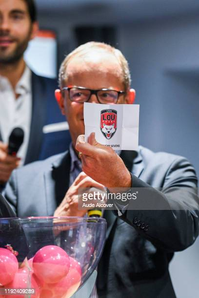Jean-Marc MANDUCHER during the press conference of the presentation of the World Rugby Sevens Series 2019-2020 on January 7, 2020 in Paris, France.