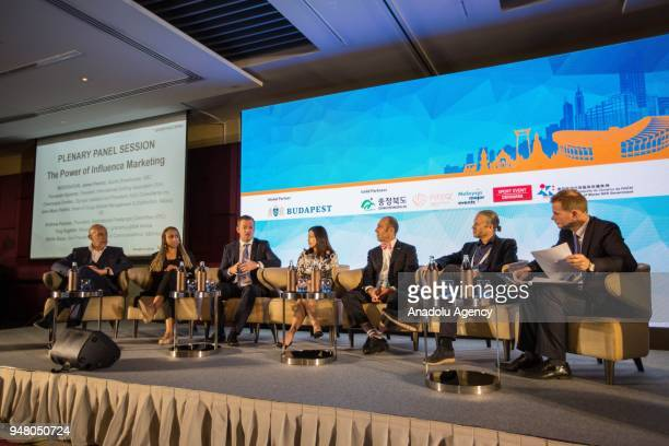 JeanMarc Pailhol Head of Group Market Management Distribution at Allianz SE Andrew Parsons President of International Paralympic Committee Sheila...