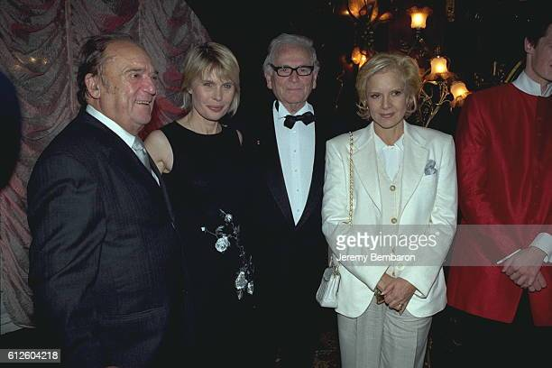 JeanMarc Thibault Candice Patou Pierre Cardin and Sylvie Vartan