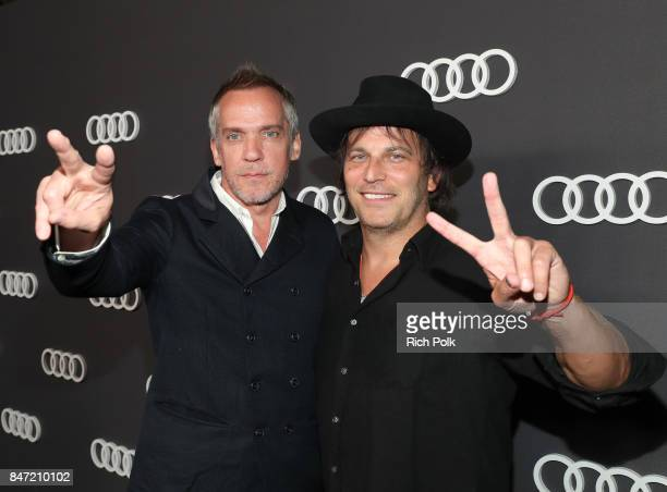 JeanMarc Vallee and Nathan Ross at Audi Celebrates the 69th Emmys at The Highlight Room at Dream Hollywood on September 14 2016 in Hollywood...