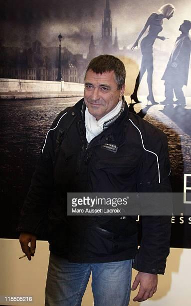 JeanMarie Bigard during 'AngelA' Paris Premiere Arrivals at GaumontMarignan in Paris France