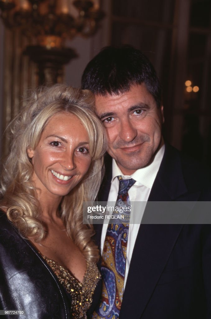 Jean-Marie Bigard et sa femme en 1995 : Nieuwsfoto's