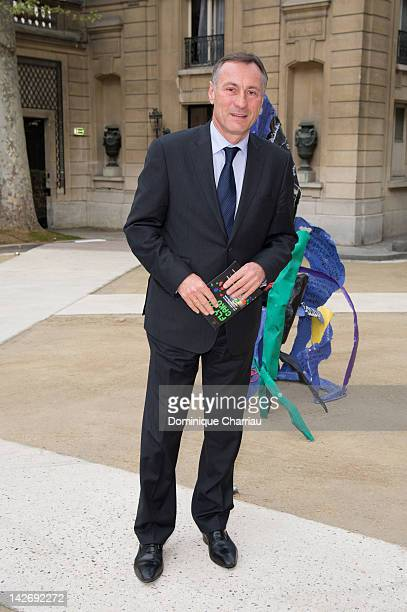 JeanMarie Bockel attends the 'Fly To Bakou' Exhibition Launch at Hotel Salomon de Rothschild on April 11 2012 in Paris France