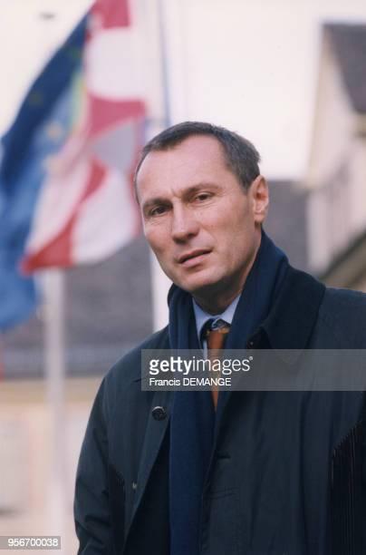 JeanMarie Bockel homme politique en novembre 1997 à Mulhouse France