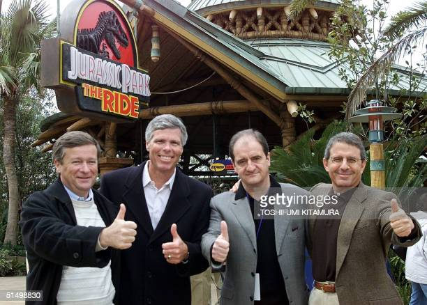 JeanMarie Messier Chairman and CEO of Vivendi Universal Thomas William Chairman and CEO of Universal Studios Recreation Group Pierre Lescure Chairman...