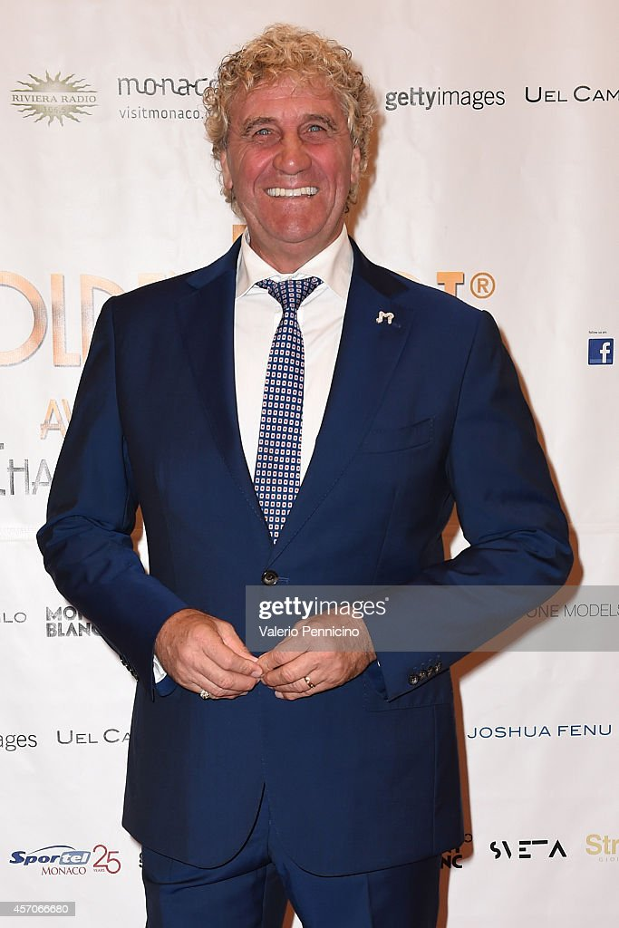 Jean-Marie Pfaff attends the Golden Foot - Footprints Ceremony on October 11, 2014 in Monte-Carlo, Monaco.