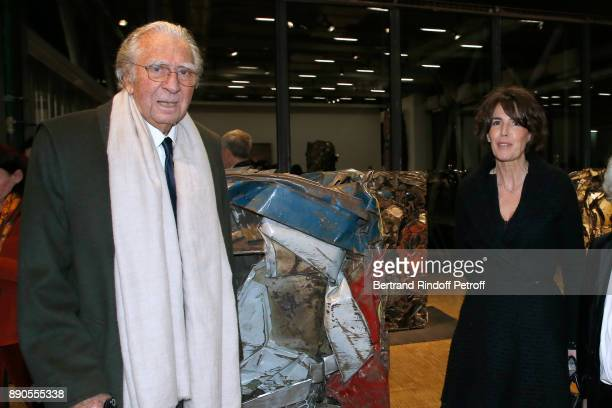 JeanMarie Rossi and his wife attend the Cesar Retrospective at Centre Pompidou on December 11 2017 in Paris France