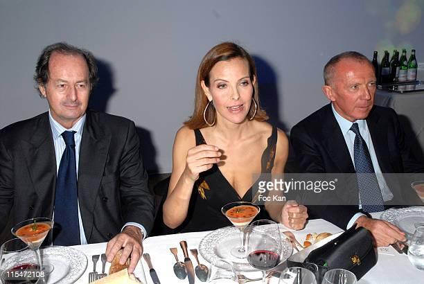 JeanMarie Rouart Carole Bouquet and Francois Pinault