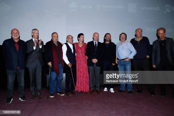 JeanMarie Winling French Minister of Culture Franck Riester JeanClaude Carriere Pierre L'homme Anne Brochet JeanPaul Rappeneau Vincent Perez Jacques...