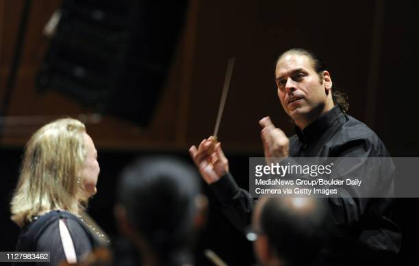 JeanMarie Zeitouni works his magic on Sunday The final concert of JeanMarie Zeitouni's first season as music director of the Colorado Music Festival...