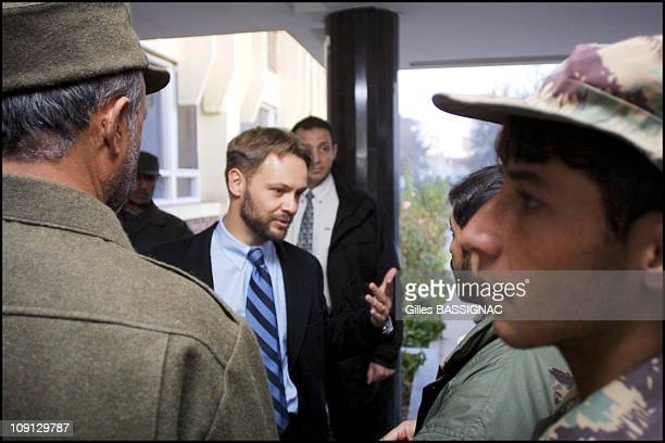 JeanMarin Schuh French Charge D'Affaires For Afghanistan Returns To French Embassy In Kabul On November 25Th 2001 In Kabul Afghanistan Before His...