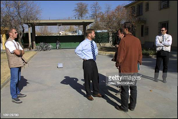 JeanMarin Schuh French Charge D'Affaires For Afghanistan Returns To French Embassy In Kabul On November 25Th 2001 In Kabul Afghanistan On The Eyes Of...