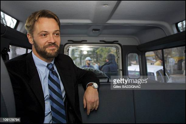 JeanMarin Schuh French Charge D'Affaires For Afghanistan Returns To French Embassy In Kabul On November 25Th 2001 In Kabul Afghanistan Jean Marin...