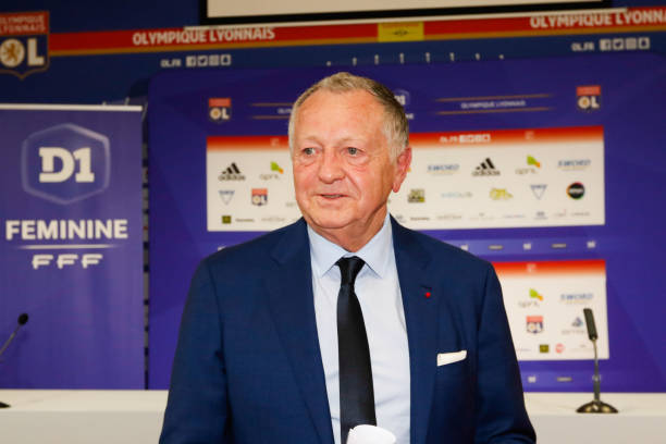 FRA: Press conference and presentation of the new head coach of women Olympique Lyonnais